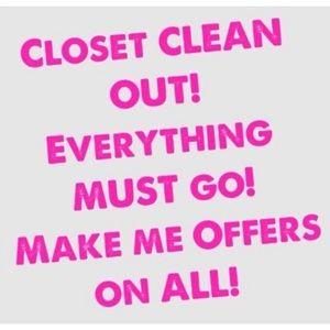 Closet Cleanout!